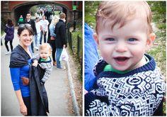 ashley and hudson LOVE #babywearing