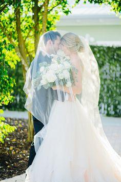 Whimsical Romance with a Blush Pink Wedding Dress | Hey Wedding Lady Blush Pink Wedding Dress, Blush Pink Weddings, Vineyard Wedding, Flower Crown, Whimsical, Wedding Inspiration, Elegant, Lady, Florida