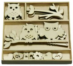 Wood Icons ~ Owls