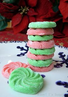 Cream Cheese Mints recipe ~ yummy!