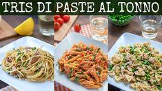 PASTA AL TONNO 3 Idee: Spaghetti Tonno e Limone, Penne al Baffo con Tonn... Penne, Spaghetti, Baked Mac, Chiffon Cake, Fish Recipes, Biscotti, Parfait, Food And Drink, Dishes