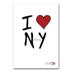 Heula - La marque normande qui cause des Normands // Carte I Love NY