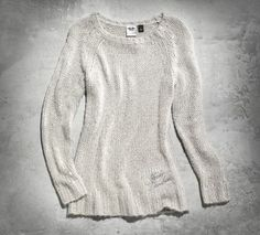 Women's Sequined Sweater Harley Davidson ♡