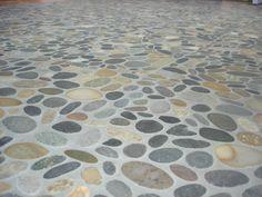 River Rock Tile | River Rock Tile Flooring | Homes and Garden Journal