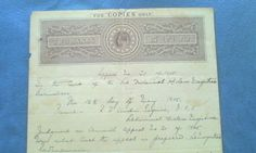 1905-TWO-ANNA-EDWARD-VII-EAST-INDIA-COMPANY-STAMP-PAPER-offer