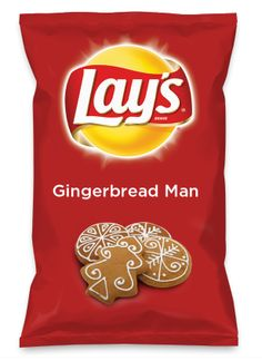 Wouldn't Gingerbread Man be yummy as a chip? Lay's Do Us A Flavor is back, and the search is on for the yummiest flavor idea. Create a flavor, choose a chip and you could win $1 million! https://www.dousaflavor.com See Rules.