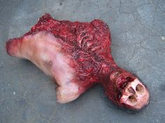 Halloween Props   Props for Rent :: Bloody Gory Halloween :: mutilated_skull_torso_53