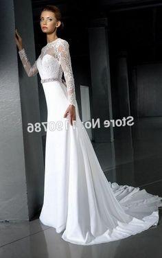 свадебное платье длинный рукав - Поиск в Google