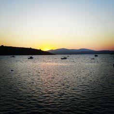 #izmir #sığacık #seferihisar #günbatımi #deniz  #kayık #sunset #sea #boat