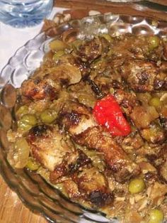 Yassa | Poulet Yassa aux olives de Mariama Diallo-Gueye