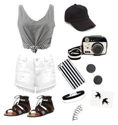 """""""cool"""" by laaan ❤ liked on Polyvore featuring Miss Selfridge, Betsey Johnson, MICHAEL Michael Kors and rag & bone"""