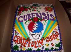Cake i made for the Band ☼