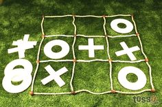 Amazon.com: Giant Tic Tac Toe: Toys & Games.  Need Mac to make one of these!  Great gift for Colton.