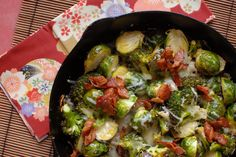 I'm a little late to the Brussels Sprouts train. They aren't really in season but they are in my grocery store and I couldn't pass them up. I love Brussels sprouts. I had my first one a couple of years…