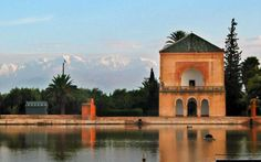 """Week 40. The name Marrakech originates from the Amazigh (Berber) words mur (n) akush, which means """"Land of God."""" It  lies near the foothills of the snow capped Atlas Mountains and a few hours away from the foot of the Sahara Desert.  Book Hotel in Marrakech from 1129 options: http://hotels.tourtellus.com/Place/Marrakech.htm"""
