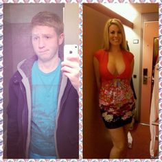 Very questionable, but saving it anyway. Hot Transgender, Male To Female Transgender, Transgender People, Male To Female Transition, Mtf Transition, Mtf Before And After, Feminized Husband, Male To Female Transformation, Voluptuous Women
