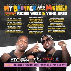 """Richie Wess & Yung Dred -""""Lonely"""" *MP3s + Official Video* + """"My Brother and Me Tour"""" #newmusic"""