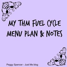 Trim Healthy Mama I'm sharing a Trim Healthy Mama fuel cycle menu plan, from 2015, that I followed at the time. I enjoyed all the recipes, so I know I'll be adding them back into our me…