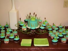 Frog baby shower By dacash on CakeCentral.com