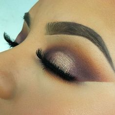 Makeup Inspiration: Gold and Purple Eyeshadow