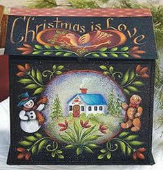 Della Wetterman, Della and Company, decorative painting seminar classes taught, Folk Art Tin, books and packets for sale. Painted Boxes, Hand Painted, Easy Paintings, Decorative Paintings, Rosemary West, Country Paintings, Flower Fairies, Wood Patterns, Henna Patterns