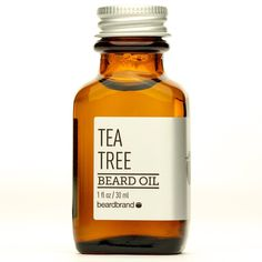 Our Tea Tree Beard Oil from Beardbrand was cultivated from months of research and made with only the finest natural blends of oils, this is the best beard Tea Tree Beard Oil, Beard Softener, Best Beard Oil, Mustache Wax, Babassu Oil, Beard Wash, Vitis Vinifera, Beard Grooming, Scented Oils