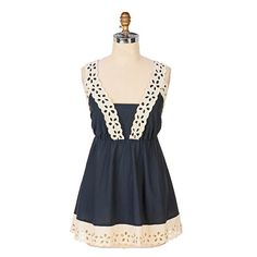 Anthropologie Felicitas Babydoll top Cute baby doll rope top Anthropologie Tops Blouses