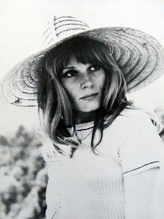 """Françoise Dorléac in """"L'homme de Rio"""", 1964."""