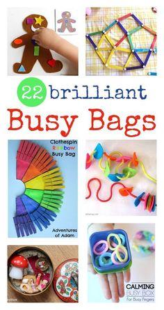 brilliant busy bag ideas - fun invitations to play