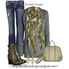 A fashion look from January 2013 featuring Zadig & Voltaire cardigans, Witchery tops and Silver Jeans Co. jeans. Browse and shop related looks.