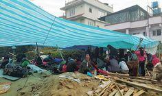 #네팔지진_꽃은피었건만_네팔의봄은_언제쯤  지진으로 폐허가 된 네팔 카트만두. 불안과 공포의 나날이 이어지고 있습니다. 지구촌공생회 최근정씨가 이 참사의 한복판에서 편지를 보내왔습니다.