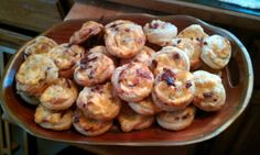 "Tinklee's  Bacon & Cheese Pinwheels! ""its a great little treat and easy to make""  @allthecooks #recipe #appetizer #easy #bacon #hot #quick"