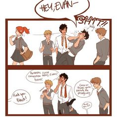 Lily, Lupin, Sirius and James Potter back in their days
