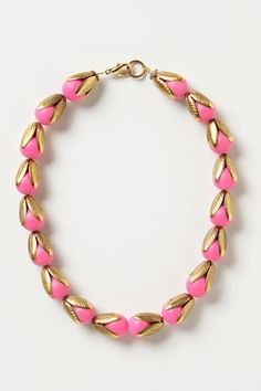 Budding Neon Necklace by Lenora Dame
