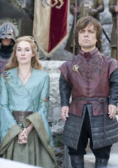 Game of Thrones : Cersei and Tyrion Lannister