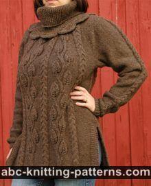 ABC Knitting Patterns - Autumn in Paris Jacket.