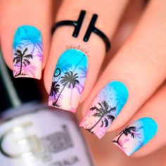 tropical nails 6