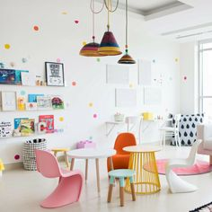 Modern kids playroom drk architects is one of images from modern kids playroom. Find more modern kids playroom images like this one in this gallery Modern Playroom, Playroom Design, Playroom Ideas, Colorful Playroom, Yellow Playroom, Kid Playroom, Playroom Decor, Modern Kids Rooms, Playroom Layout