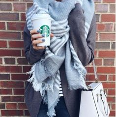 The Fellows Blanket Scarf, Cozy Knit Scarves from Spool 72. | Spool No.72