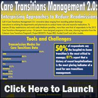 Examines how care transitions data is transmitted, which care transition is the most critical to manage and the top five discharge summary components.