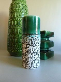 Lava Keramik Vase  von susduett  auf DaWanda.com