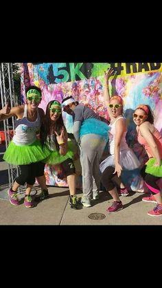 Color me RAD!!! Zumba crew!!!!