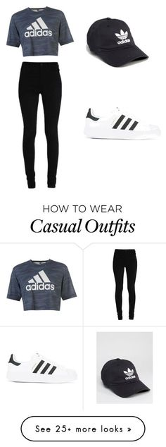 """Casual wear"" by fashion-queen-ss-101 on Polyvore featuring adidas and adidas Originals"