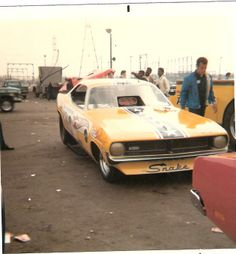 The Snake Funny Car