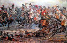 12 de febrero de Austerlitz 1805., Chevalier Guardia vs guardia Imperiale - Anatoly Telenik