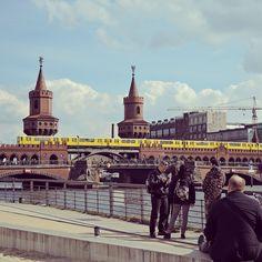 The legendary yellow subway of #Berlin @hannastarlight #travel #europe #oneeurope #wanderlust