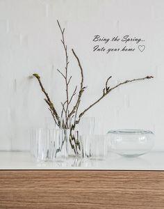 Autentisk Indretning . Livsstil: Bring the spring into your home...
