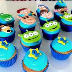 Toy story cupcakes #toystory #cupcakes