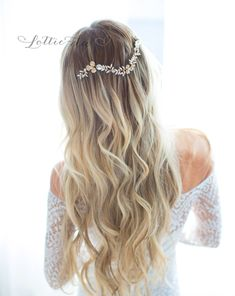 9 Most Beautiful Bridal Headpieces for Weddings <br />(+ GIVEAWAY!) |  #bridalheadpiece #bridalveils #etsyheadpieces #giveaway #handmadeveil #HandmadeWedding #headpieces #lottiedadesigns #lottiedadesigns #veilalternative #veils #weddingheadpieces | bridal headpieces