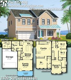 Ready When You Are! Where Do YOU Want To Build? #42554DB #adhouseplans  #traditional #architecturaldesigns #houseplans #architecture #newhome ...